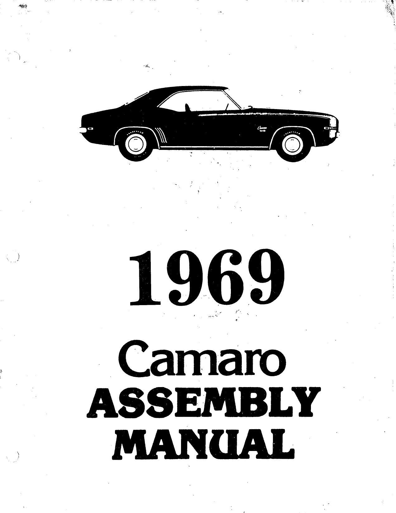 Camaro Assembly Manual April 1968